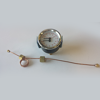 Double Scale Pressure Gauge L280R 1